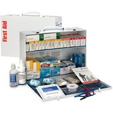 FAO90573 - First Aid Only 2-Shelf First Aid Cabinet with ...