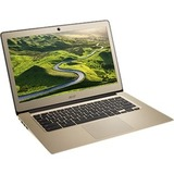 """Acer CB3-431-C6ZB 14"""" LCD Chromebook - Intel Celeron N3160 Quad-core (4 Core) 1.60 GHz - 4 GB LPDDR3 - 32 GB Flash Memory - Chrome OS - 1920 x 1080 - In-plane Switching (IPS) Technology - Gold"""