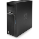 HP Z440 Mini-tower Workstation - 1 x Processors Supported - 1 x Intel Xeon E5-1620 v4 Quad-core (4 Core) 3.50 GHz - Jack Black
