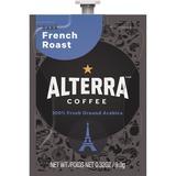 Mars Drinks Alterra French Roast Coffee - Compatible with Flavia - Caffeinated - French Roast - Dark MDKA184