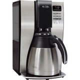 Mr. Coffee Classic Coffee 10-cup Thermal Coffeemaker - Programmable - 10 Cup(s) - Black, Silver MFEBVMCPSTX91RB