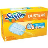 Swiffer Unscented Duster Kit - 5 / Kit - Fiber - Blue, Yellow PGC11804
