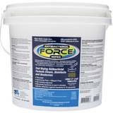 "2XL Antibacterial Force Wipes Dispensing Bucket - 6"" x 8"" - White - Anti-bacterial, Hygienic, Disinf TXLL400"