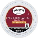 Twinings Tea K-Cup - Compatible with Keurig BrewerDecaffeinated, Black Tea - English Breakfast - 24  TWG08757