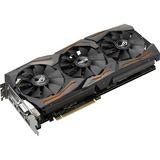 ROG STRIX-GTX1070-O8G-GAMING GeForce GTX 1070 Graphic Card - 1.66 GHz Core - 1.86 GHz Boost Clock - 8 GB GDDR5 - PCI Express 3.0 - Dual Slot Space Required