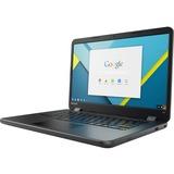 "Lenovo N42-20 80VJ0003CF 14"" Touchscreen LCD Chromebook - Intel Celeron N3060 Dual-core (2 Core) 1.60 GHz - 4 GB LPDDR3 - 16 GB Flash Memory - Chrome OS (French) - 1366 x 768 - Twisted nematic (TN)"