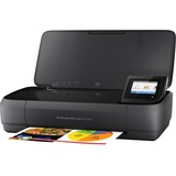HP Officejet 250 Inkjet Multifunction Printer - Color - Plain Paper Print - Portable