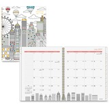 At-A-Glance Cityscape Professional Monthly Planner - Professional - Julian - Monthly - 1 Year - July AAG1017900A