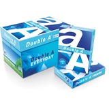 "Double A Everyday Copy & Multipurpose Paper - Letter - 8.50"" x 11"" - 20 lb Basis Weight - Smooth - 9 DAA851120"