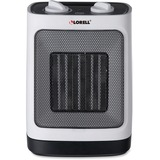 Lorell Adjustable Ceramic Heater - Ceramic - Electric - Electric - 900 W to 1.50 kW - 1500 W - White LLR99841