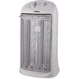 Lorell 2-Setting Portable Quartz Heater - Quartz - 2 x Heat Settings - Portable - White LLR99844