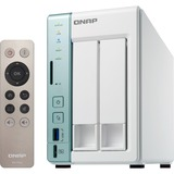QNAP Dual-core NAS featuring USB QuickAccess Port for Direct Access to Files