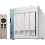 QNAP Dual-core NAS featuring direct file transfer and access via USB QuickAccess