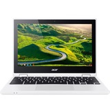 "Acer CB5-132T-C7R5 11.6"" Touchscreen LCD Chromebook - Intel Celeron N3160 Quad-core (4 Core) 1.60 GHz - 4 GB DDR3L SDRAM - 32 GB Flash Memory - Chrome OS - 1366 x 768 - In-plane Switching (IPS) Technology"