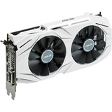 Asus DUAL-GTX1060-O3G GeForce GTX 1060 Graphic Card - 1.59 GHz Core - 1.81 GHz Boost Clock - 3 GB GDDR5 - Dual Slot Space Required