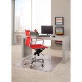 "ES Robbins Linear Rectnglr Chairmat - 48"" Length x 36"" Width - Rectangle - Clear ESR162008"