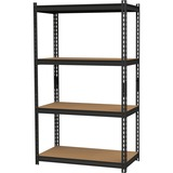"Hirsh 2,300 lb Capacity Iron Horse Shelving - 4 Compartment(s) - 60"" Height x 36"" Width x 18"" Depth  HID20991"