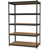 "Hirsh 2,300 lb Capacity Iron Horse Shelving - 5 Compartment(s) - 72"" Height x 36"" Width x 18"" Depth  HID20992"