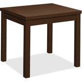 "HON End Table - 24"" x 20"" x 20"", Edge, 20"" x 20"" Work Surface, Top - Square Edge - Material: Wood Gr HON80193MOMO"