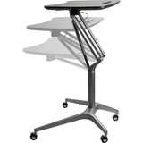 LLR84838 - Active Office Black Laminate Top Mobile Lap...