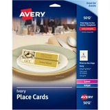 AVE5012 - Avery Ivory Place Cards