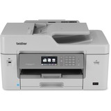 Brother Business Smart MFC-J6535DW Inkjet Multifunction Printer - Color - Plain Paper Print - Desktop