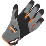 ProFlex 710 Heavy-Duty Utility Gloves - 10 Size Number - X-Large Size - Neoprene Knuckle, Poly - Gra EGO17045