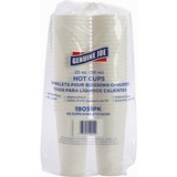 Genuine Joe Cup - 20 fl oz - 50 / Pack - White - Coffee, Hot Drink GJO19051PK