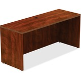"""Lorell Credenza - Top, 66"""" x 24"""" x 30"""" - Reeded Edge - Finish: Cherry Laminate Top LLR34364"""