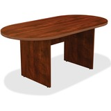 "Lorell Chateau Conference Table - Edge, 36"" x 72"" x 30"", Top - Reeded Edge - Finish: Cherry Laminate LLR34374"