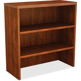 "Lorell Chateau Bookshelf - Top, 36"" x 15"" x 37"" - Reeded Edge - Finish: Cherry Laminate Top LLR34380"