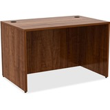 "Lorell Desk - 48"" x 30"" x 29.5"", Edge - Material: Metal, Polyvinyl Chloride (PVC) Edge - Finish: Wal LLR34389"