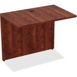 "Lorell Desk - 34"" x 24"" x 29.5"" Desk, Edge - Material: Polyvinyl Chloride (PVC) Edge, Metal - Finish LLR69537"