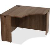 "Lorell Desk - 42"" x 29.5"" x 24"" Desk, Edge - Material: Polyvinyl Chloride (PVC) Edge, Metal - Finish LLR69953"