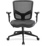 "Lorell Executive Chair - Black - 27.5"" Width x 28.5"" Depth x 38.5"" Height LLR84584"