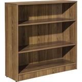 LLR99783 - Lorell Walnut Laminate Bookcase