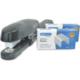 Rapesco 790 Front Loading Long Arm Stapler with Staples Set - 50 Sheets Capacity - 26/8mm, 24/8mm, 2 RPC1281