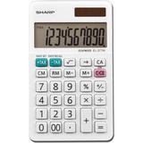Sharp Calculators EL-377WB 10-Digit Professional Handheld Calculator