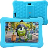 """Tablet Express Dragon Touch Y88X Plus Kids 7"""" Tablet Disney Edition, Kidoz Pre-Installed, Android 5.1, Blue "" - 2017 Disney Edition - Quad Core CPU - Android 5.1 Lollipop - IPS Display - Kidoz Pre-Installed with Bonus Disney Content (more than $60 Value) - Games App and Audio Book - New Silicone Bumper with Adjustable Stands-Blue"