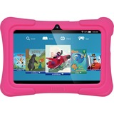 "Tablet Express Dragon Touch Y88X Plus Kids 7"" Tablet Disney Edition, Kidoz Pre-Installed, Android 5.1, Pink - 2017 Disney Edition - Quad Core CPU - Android 5.1 Lollipop - IPS Display - Kidoz Pre-Installed with Bonus Disney Content (more than $60 Value) - Games App and Audio Book - New Silicone Bumper with Adjustable Stands-Pink"