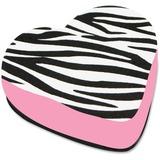 ASH10022 - Ashley Zebra Heart Magnetic Whitebrd Eraser