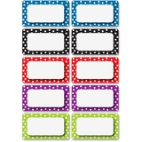 ASH10118 - Ashley Dotted Dry Erase Nameplate Magnets