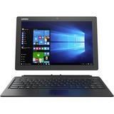 "Lenovo IdeaPad Miix 510-12ISK 80U1006EUS 12.2"" Touchscreen 2 in 1 Notebook - Intel Core i5 (6th Gen) i5-6200U Dual-core (2 Core) 2.30 GHz - 8 GB DDR4 SDRAM - 256 GB SSD - Windows 10 Pro 64-bit (English) - 1920 x 1200 - Hybrid - Black"