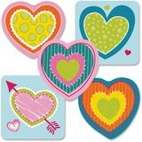 CDP120178 - Carson-Dellosa Hearts Mini Cut-outs