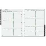 Day-Timer 2017 2-Page-Per-Week Planner Refill Folio Size (68532_17)