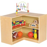 "ECR17206 - ECR4KIDS Birch 3"" Corner Storage Unit"