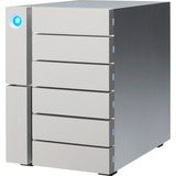 LaCie 6big STFK24000400 - 6 x HDD Supported - 6 x HDD Installed - 24 TB Installed HDD Capacity
