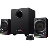 Creative Sound BlasterX 2.1 Speaker System - Black