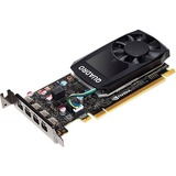 PNY Quadro P600 Graphic Card - 2 GB GDDR5 - Low-profile - Single Slot Space Required