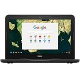 "Dell Chromebook 3180 11.6"" LCD Chromebook - Intel Celeron N3060 Dual-core (2 Core) 1.60 GHz - 4 GB - 16 GB Flash Memory - Chrome OS - 1366 x 768 - Black"